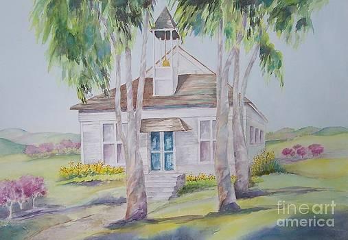 The Little Old Bonsall Schoolhouse by Maryann Schigur