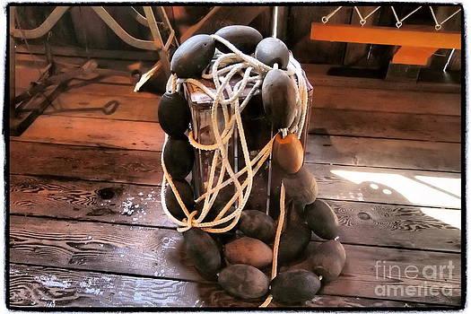 Ming Yeung -  vintage fishing net