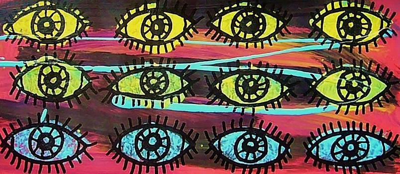 12 Eyes by Nancy Mitchell