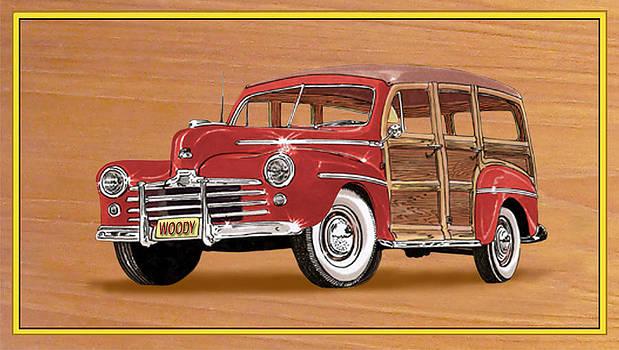 Jack Pumphrey - 1946 Ford WOODY