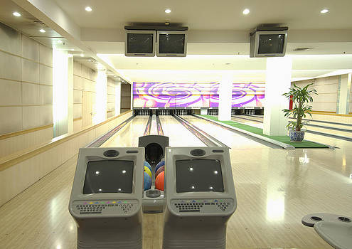 A Bowling Alley by Guang Ho Zhu