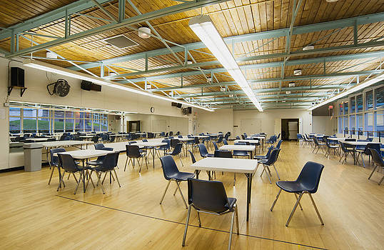 A Large Hall In A Community Centre by Marlene Ford