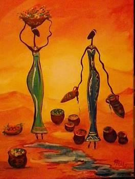 African Women by Anne Marie Spears