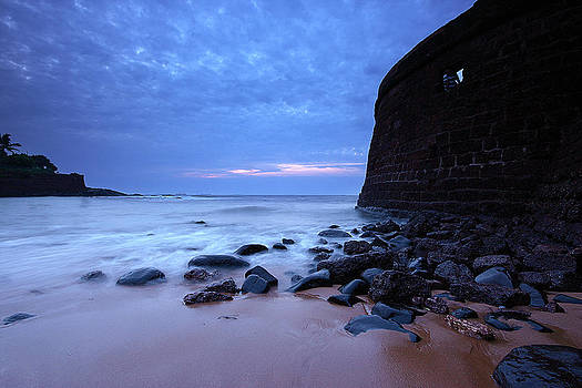 Aguada Fort by Sydney Alvares