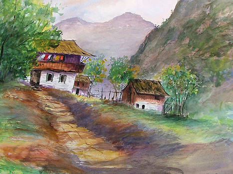 Alpine Chalets by Heidi Patricio-Nadon