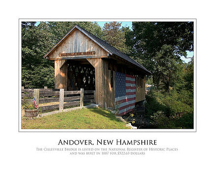 Andover NH Historical Bridge by Jim McDonald Photography