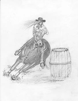 Jim Hubbard - Barrel Rider