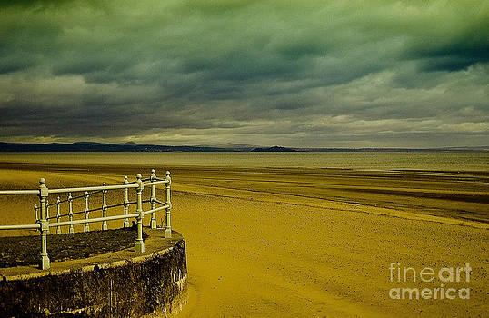 Beach of Leight Edinburgh by Elena Mussi