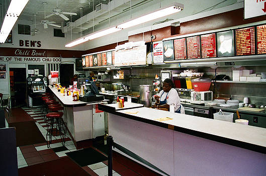 Ben's Chili Bowl by Claude Taylor