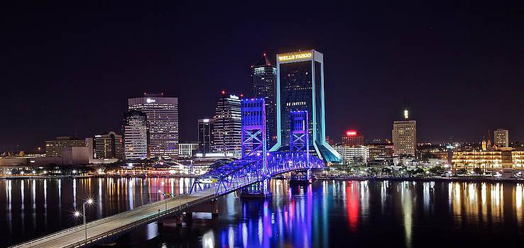 Blue Bridge by Jeremy D Taylor
