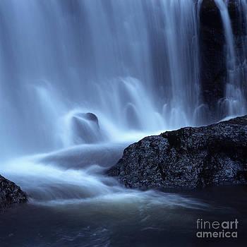 BERNARD JAUBERT - Blue waterfall