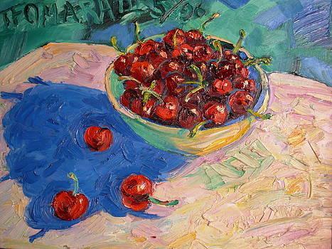 Bowl Of Cherries by Thomas OMara