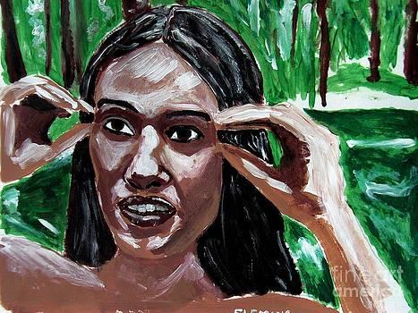 Cherokee Girl by Timothy Fleming