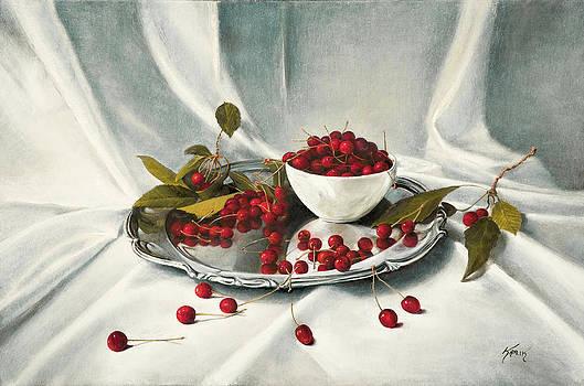 Cherries by Brandon Kralik