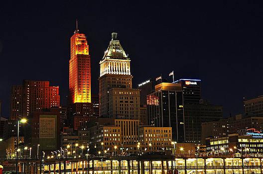 Cincinnati Skyline by Michael Austin