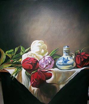 Classic Roses by Barbara Ruzzene