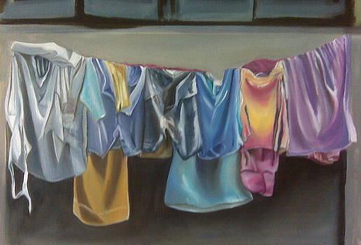 Clothesline by Barbara Ruzzene