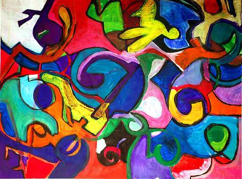 Jame Hayes - Color Shape Study