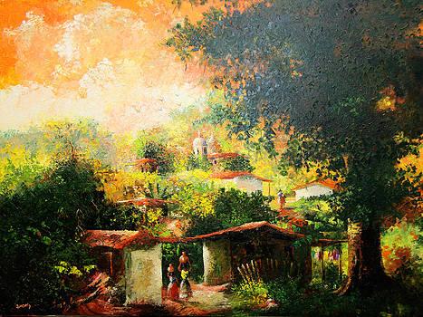 Colorfull village by Julio Ortiz