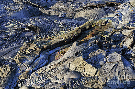Sami Sarkis - Cooled pahoehoe lava flow