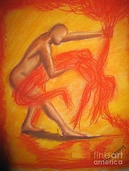 Dance With Imaginary Woman by Safa Al-Rubaye