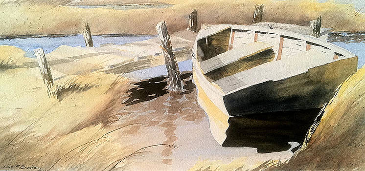 Docs Old Rowboat by Don F  Bradford