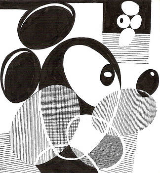 Egg Mickey Mouse by Phil Burns