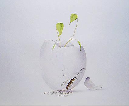 Egg Plant by Carol McLagan