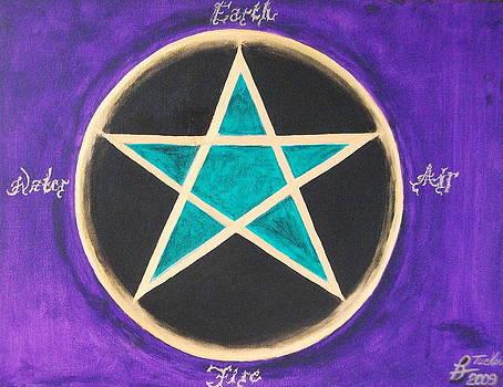 Elemental Pentacle by Rick Tucker