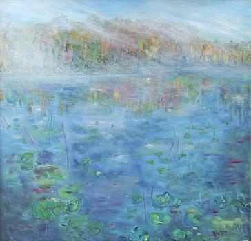 Fall on the Lake by Barbara Anna Knauf
