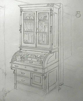 Father's Desk by Robert Fenwick May Jr