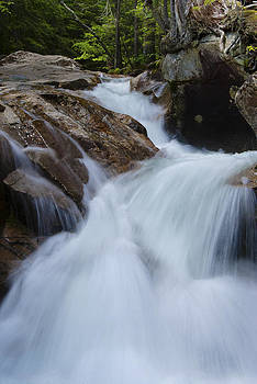 Flowing at The Basin by Peggie Strachan