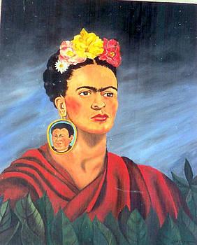 Frida Kahlo by John Sowley