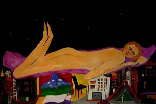 Goddess Dream by Eliezer Sobel