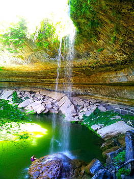 Hamilton Pool by Amber Hennessey