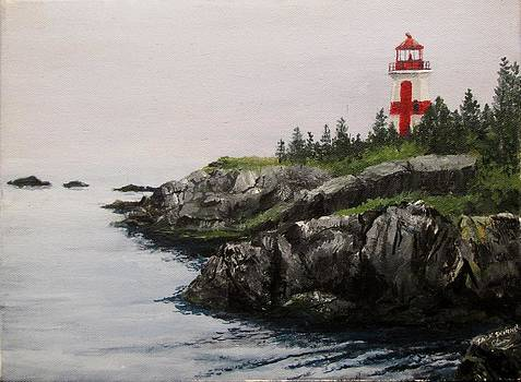 Head Harbour Lighthouse by Jack Skinner