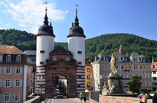 Heidelberg old bridge by Travel Images Worldwide