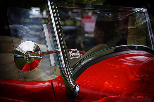 Hot Rod Red Ford by SM Shahrokni