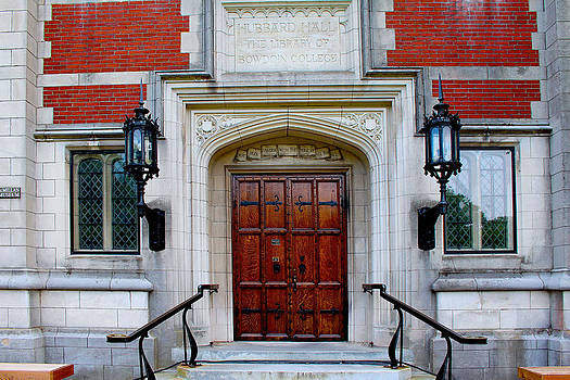 Hubbard Hall Doors by Robbie Basquez