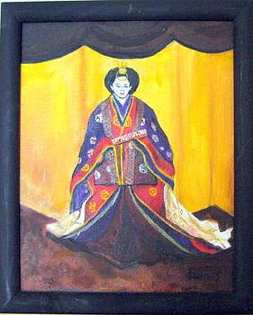 Japanese bride by John Sowley