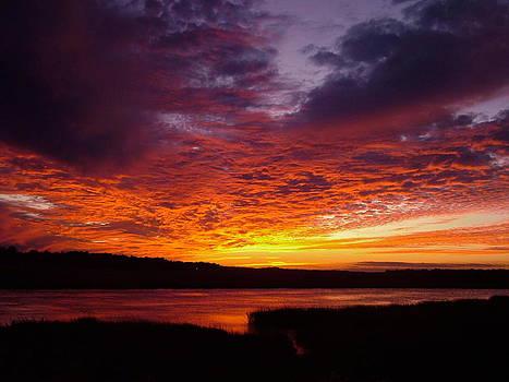 Jericho River Sunset by Teresa Grace Mock
