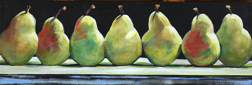 Kitchen Pears by Toni Grote