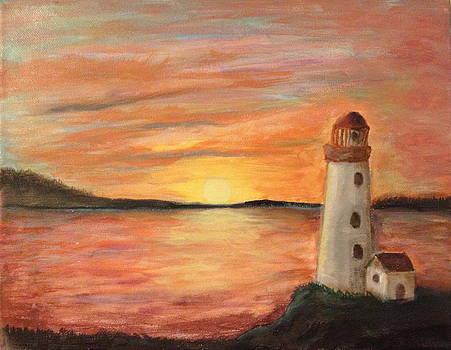 Light House by Bozena Zajaczkowska