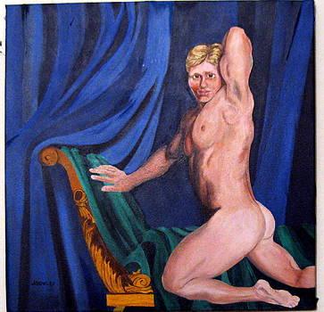 Male nude by John Sowley