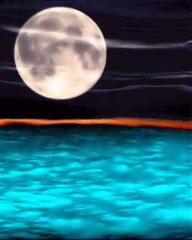 Moonlight Sonata by Karen Conine