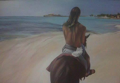 Morning Ride by Barbara Ruzzene