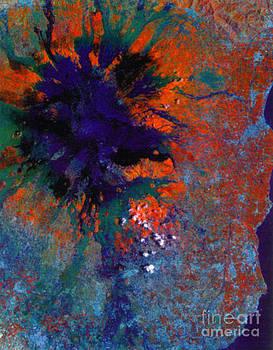 Science Source - Mount Etna Satellite Image