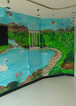 Mural Sensory Room by Donna Laplaca