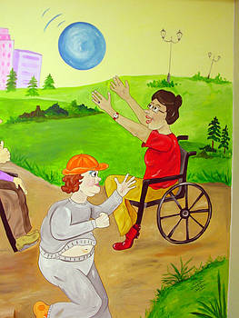 Mural Therapy Room by Donna La Placa