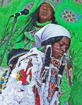 New Generation of Mardi Gras Indians in New Orleans by Louis Maistros
